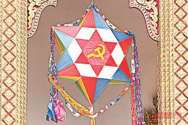Буддийская религия в Лаосе органично «скрещена» с социализмом.