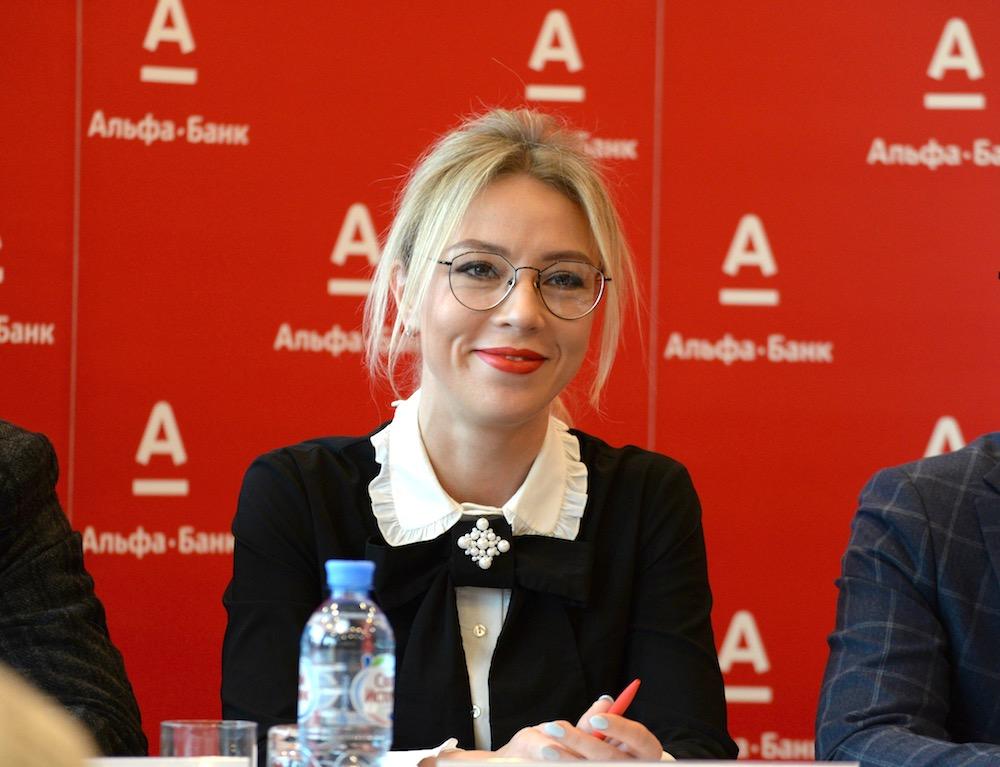 На фото: менеджер проектов массового бизнеса Альфа-Банка Татьяна Трифонова.