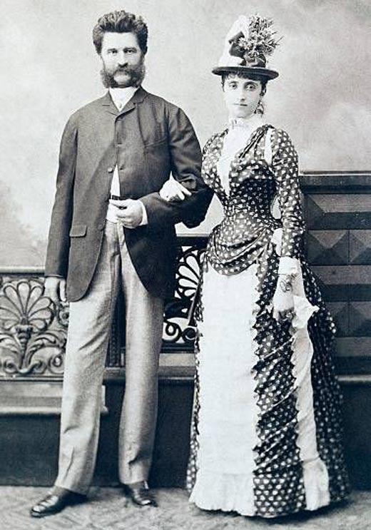Последней жене посвятил один из лучших своих вальсов - «Вальс Адели».