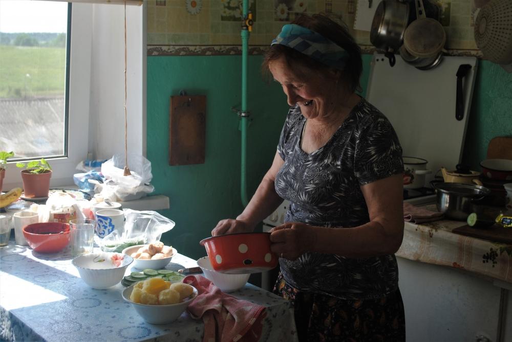 Антонина Евстафьевна.