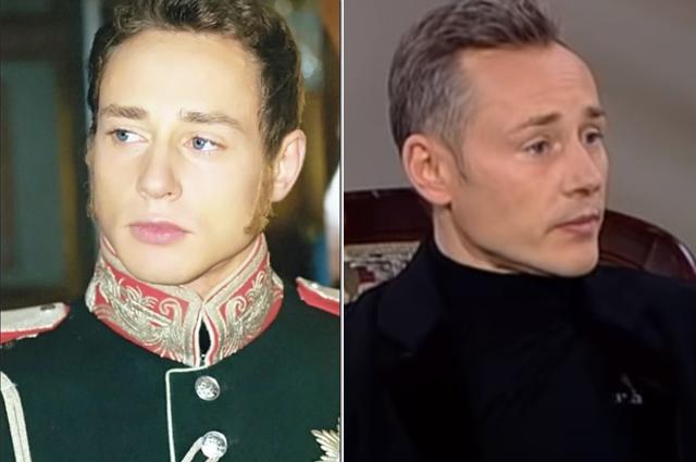 Дмитрий Исаев тогла и сейчас.