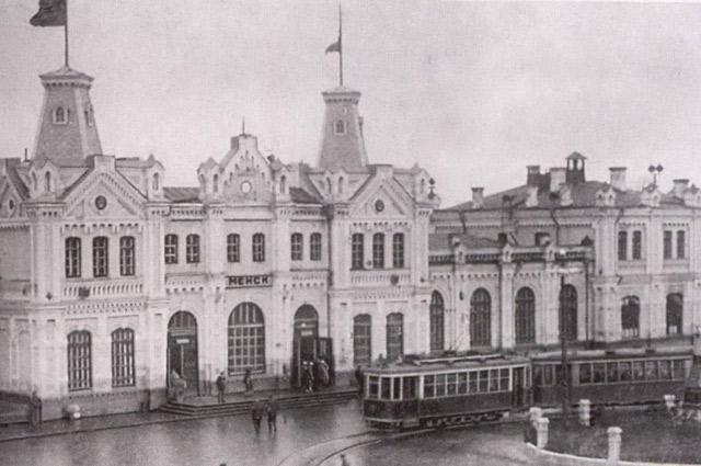 Старый вокзал был до 1991 года.