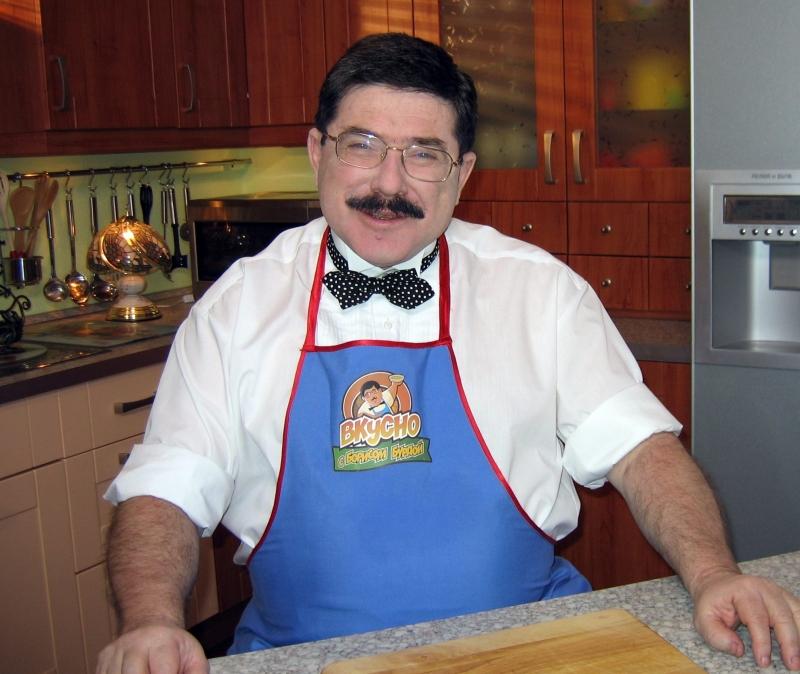 Борис Бурда – кулинар.