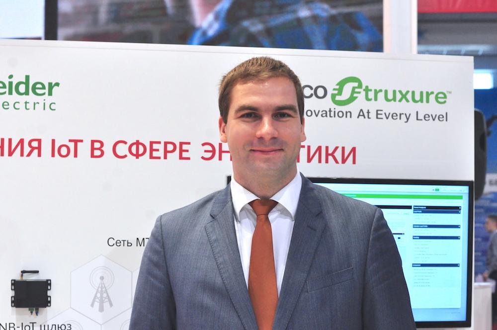 На фото: директор ООО «Шнейдер Электрик Бел» Александр Саванович.